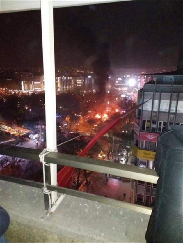 #Ankara Kızılay'daki patlamaya dünya basınından ilk tepkiler