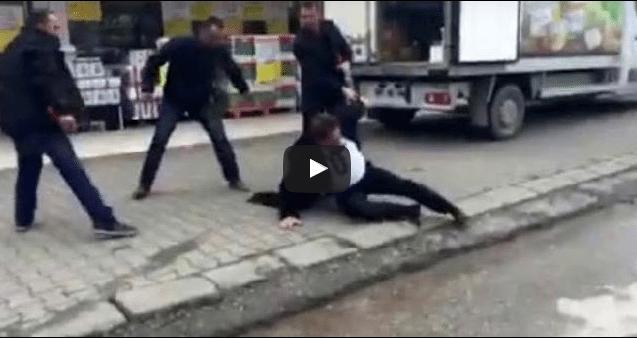 VİDEO | Osmanlı Timleri CHP'li Başkanı dövüp, videoya çekti