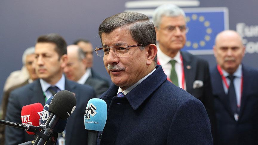 Davutoğlu'ndan CHP'nin önerisine ret
