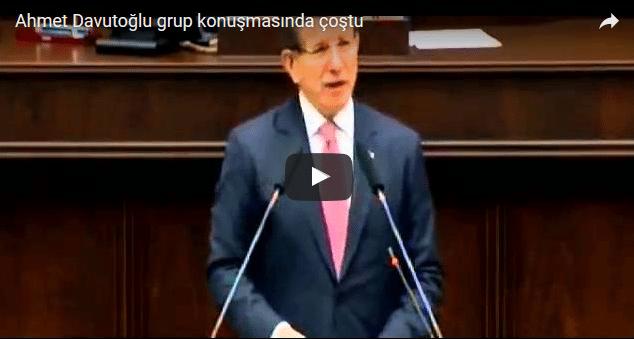 VİDEO | Davutoğlu grup toplantısında coştu!
