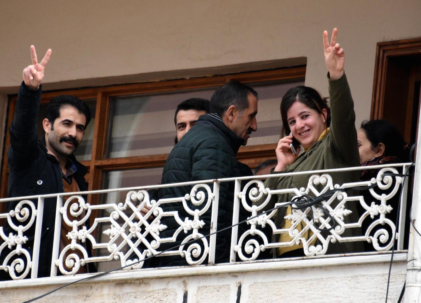 DBP Van İl Eş Başkanları tutuklandı