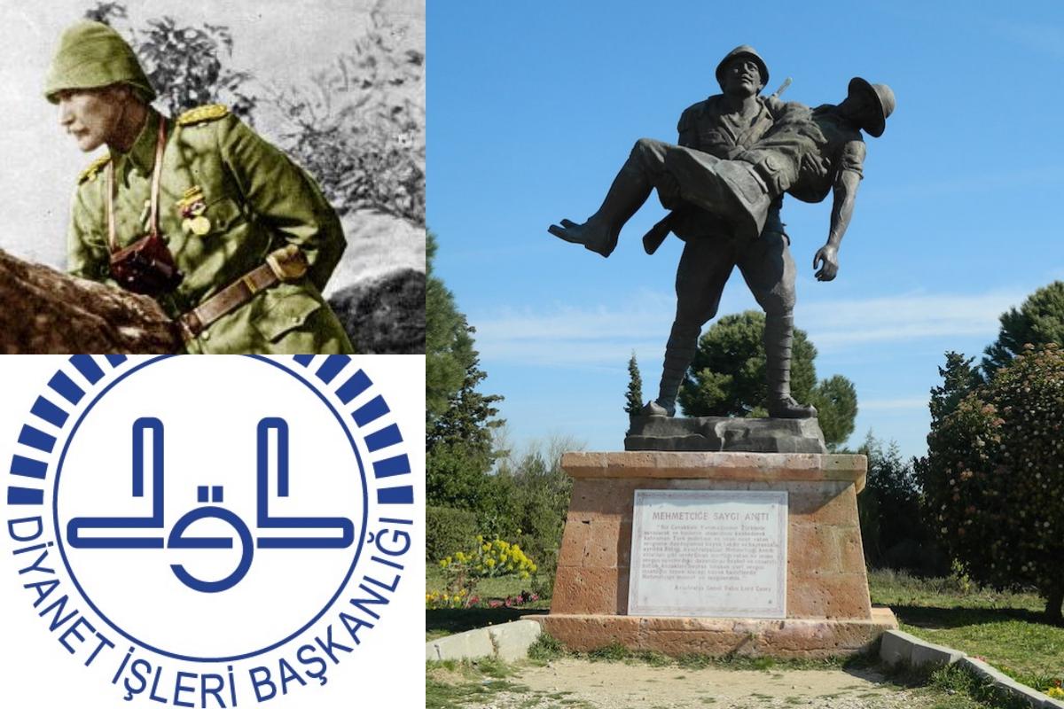 Diyanet'ten Mustafa Kemal'siz