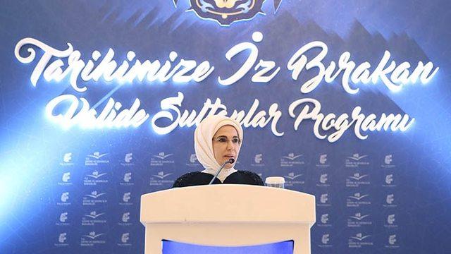 VİDEO   Emine Erdoğan'dan cariyelik güzellemesi: İlham kaynağımızdır!