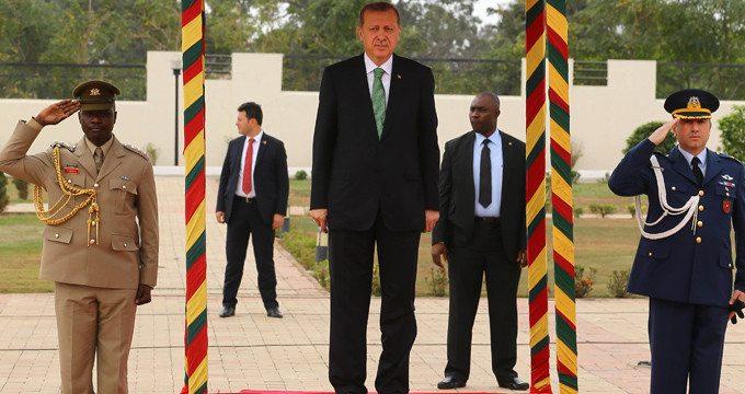 Erdoğan İstanbul'dan sonra Gana'nın ulaşımına çözüm buldu!