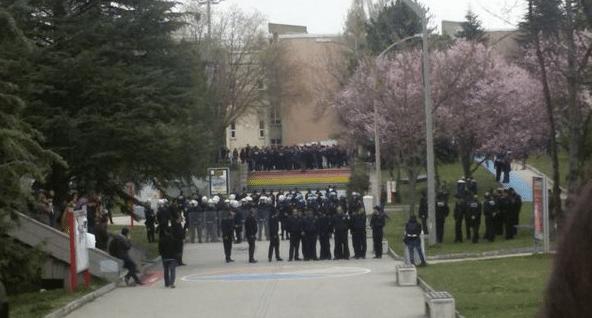 Hacettepe Üniversitesi faşist saldırı sonucu 2 gün tatil edildi
