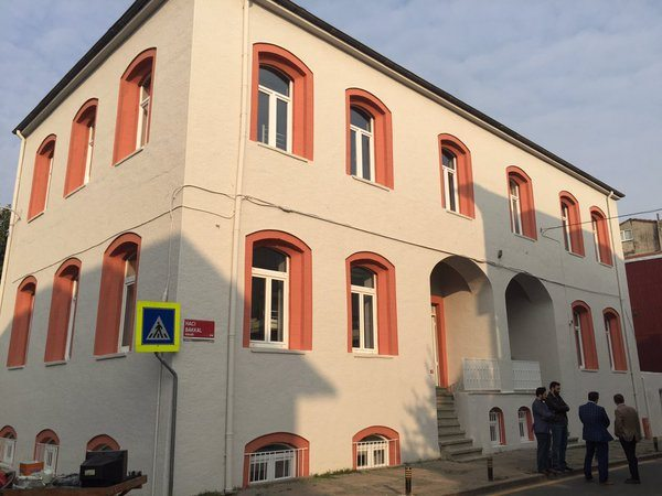 Ermeni okulu, Ensar'ın yurdu oldu!