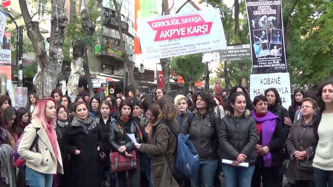 Kadınlardan korkan valilikten Ankara'da sıkıyönetim kararı