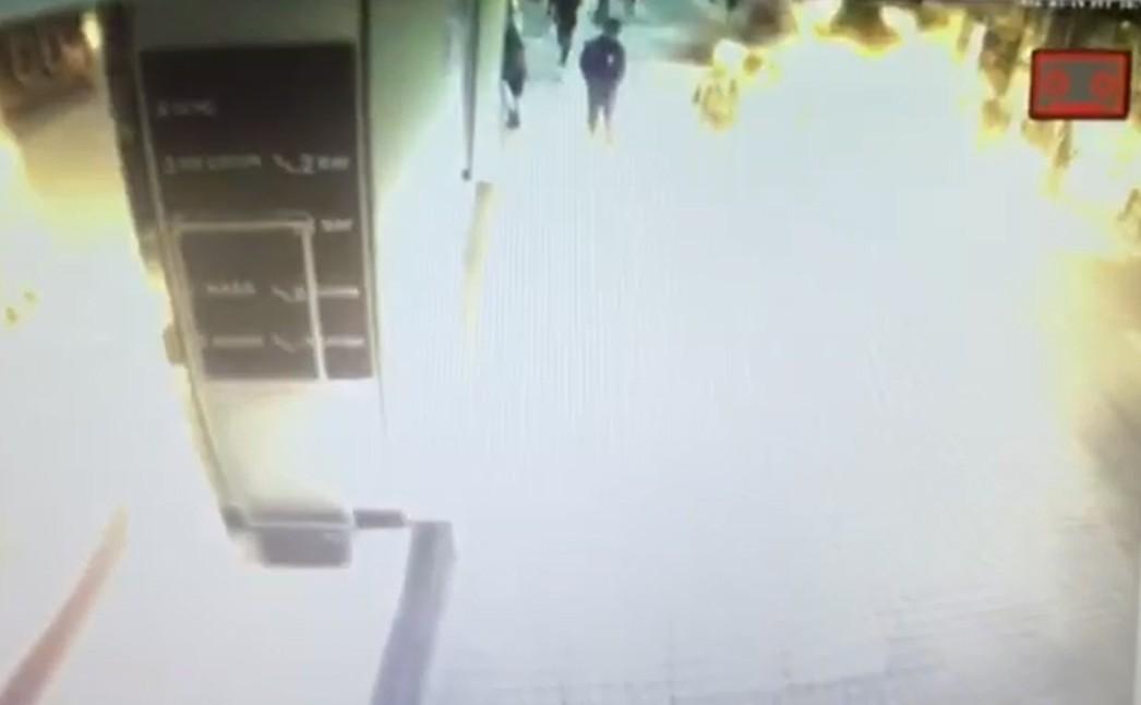 VİDEO | #Taksim İstiklal Caddesi'nde yaşanan saldırının yeni görüntüleri çıktı