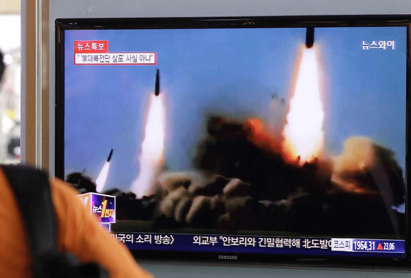 KDHC, Japon Denizi'ne 2 balistik füze fırlattı