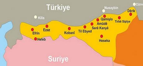 FLAŞ HABER | Rojava'da federasyon ilan edildi