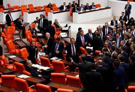 Meclis'te Bilal Erdoğan gerginliği