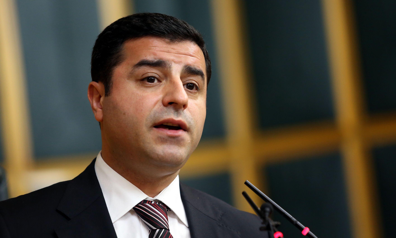 Demirtaş'tan fezleke açıklaması: Biz bir tek örgüte üyeyiz, Halkların Demokratik Partisi