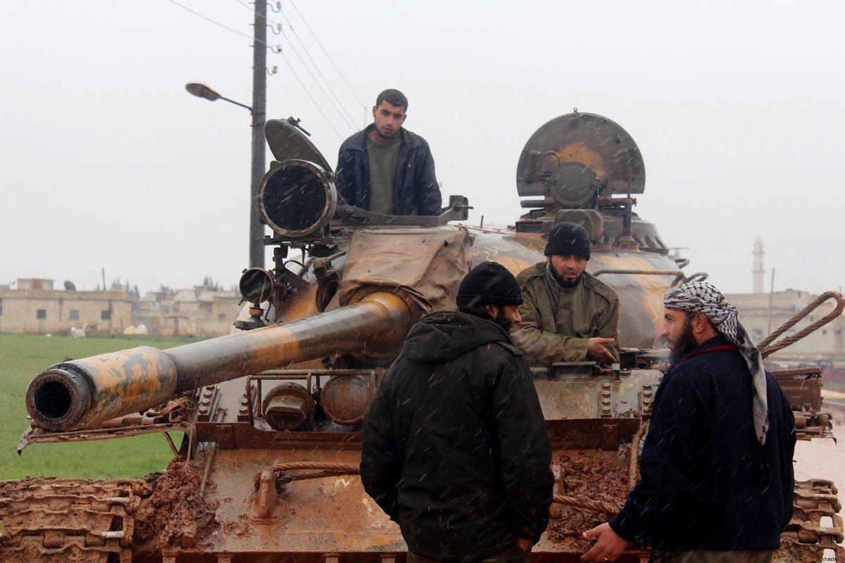 Pentagon Suriye'de