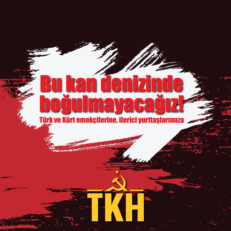 TKH: Bu kan denizinde boğulmayacağız!