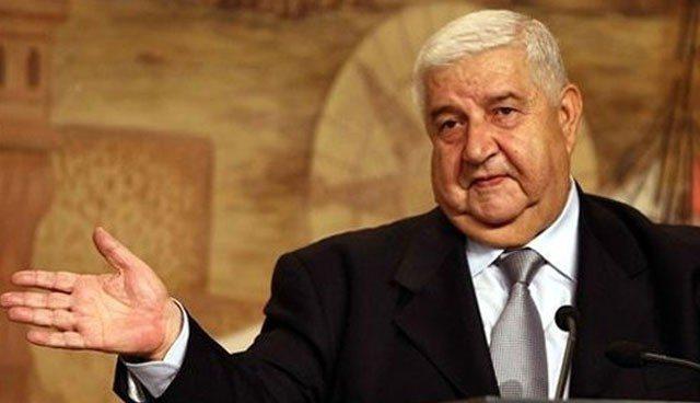 Suriye Dışişleri Bakanı Velid Muallim: Esad kırmızı çizgimiz