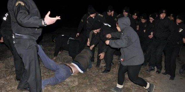 Yırca'da köylüleri döven güvenlikçiler yargılanıyor