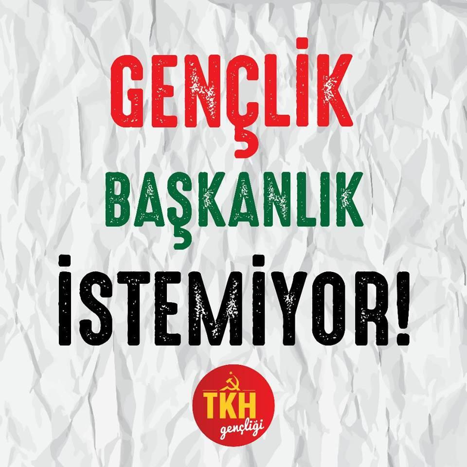 Sedat Yalçın Önay yazdı: Gençlik başkanlığı değil, laik ve bağımsız bir ülke istiyor