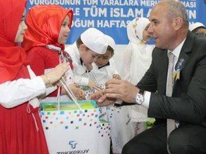 AKP'li Belediye'den 4 yaşındaki çocuklara türban!