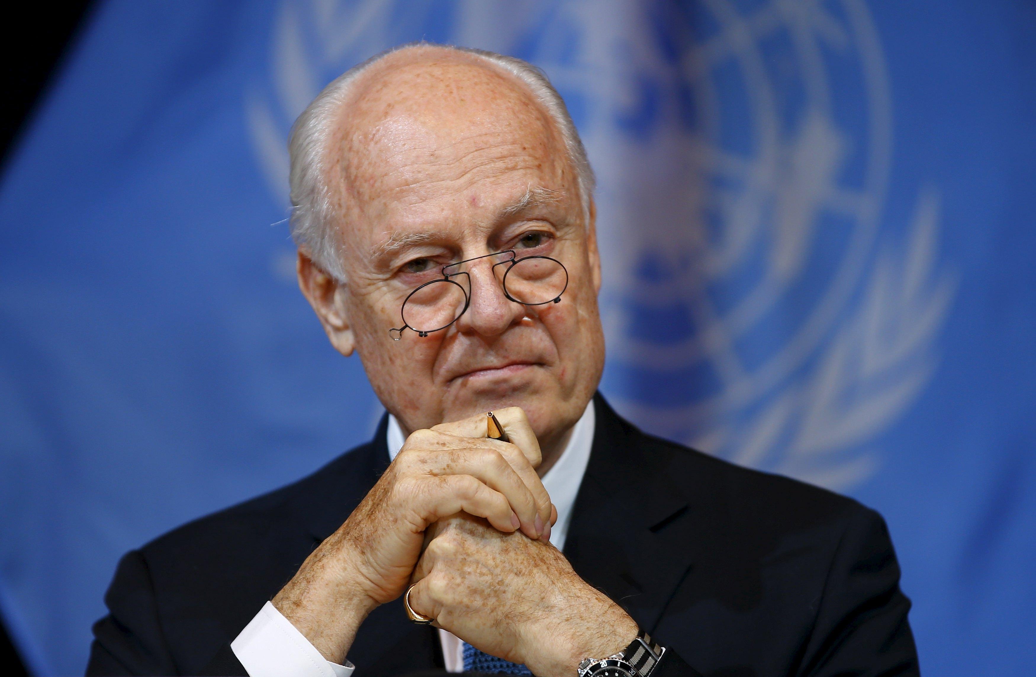 De Mistura: Suriye anayasa komisyonunda ortak zemine yaklaştık