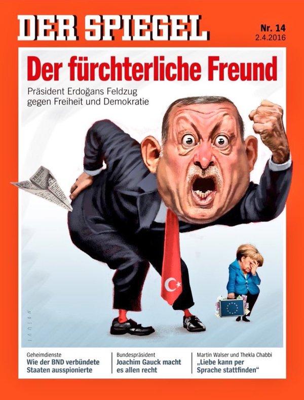 Haftalık Alman dergisi Der Spiegel bu haftaki sayısında