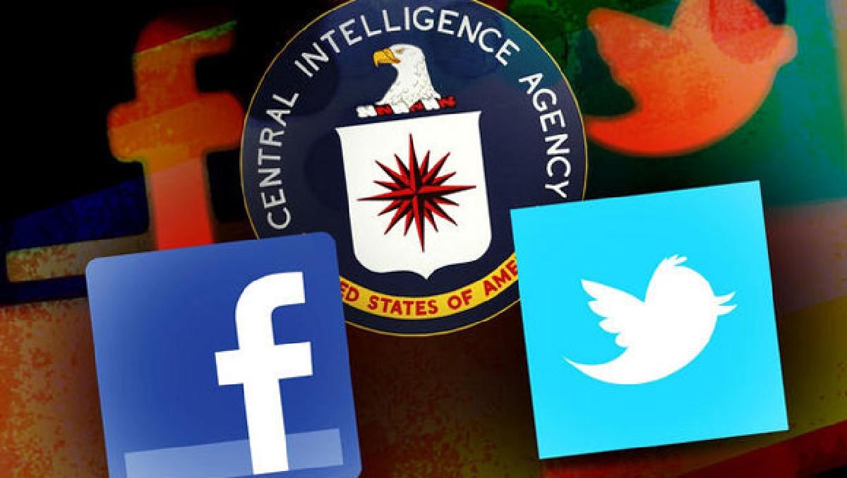 CIA'nin fişlemede sosyal medya ağı