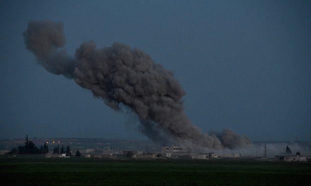 Kilis'in karşısında bombardıman şiddetlendi