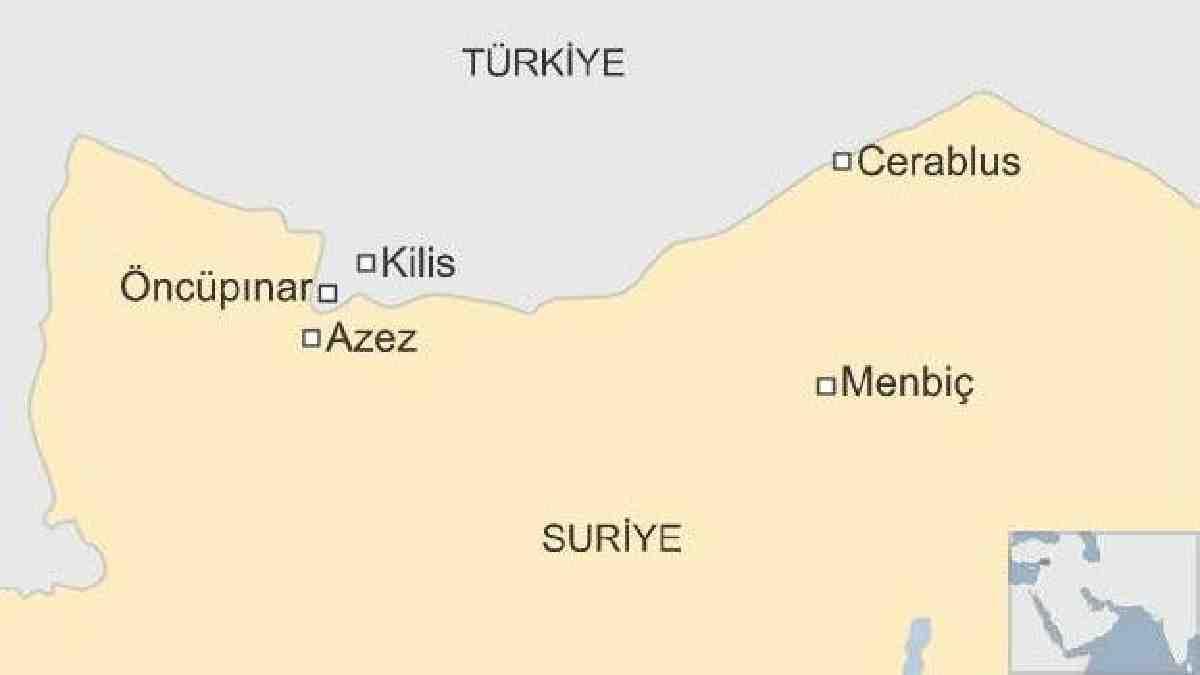Türkiye-Suriye sınırına ABD füze sistemi