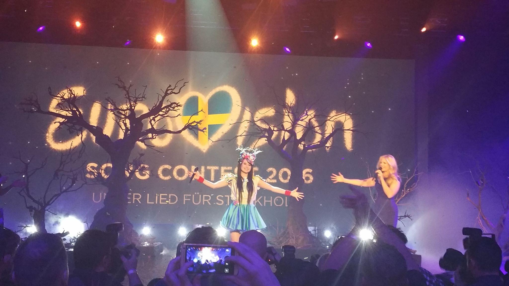 Mülteci krizi şimdi de Eurovision'da