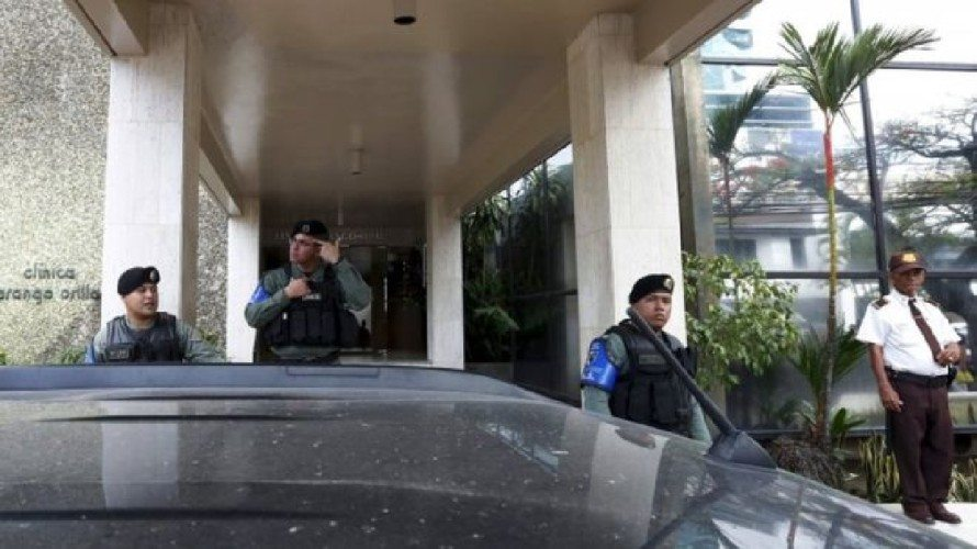 Mossack Fonseca'nın genel merkezine polis baskını