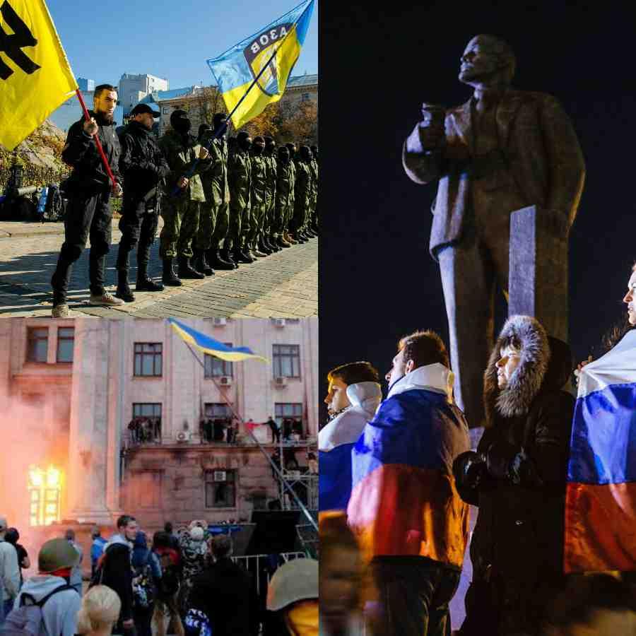 Odessa'da darbeci Saakaşvili Neo Nazi Azov Taburu'nu desteğe çağırdı