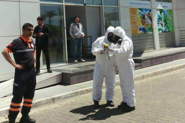 AKP binasında gaz alarmı