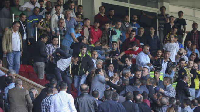 Amedspor yöneticileri dövülmüştü: Ankaragücü'ne 5 maç ceza