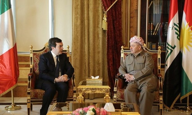 Barzani: Terörü kullananlar yanar