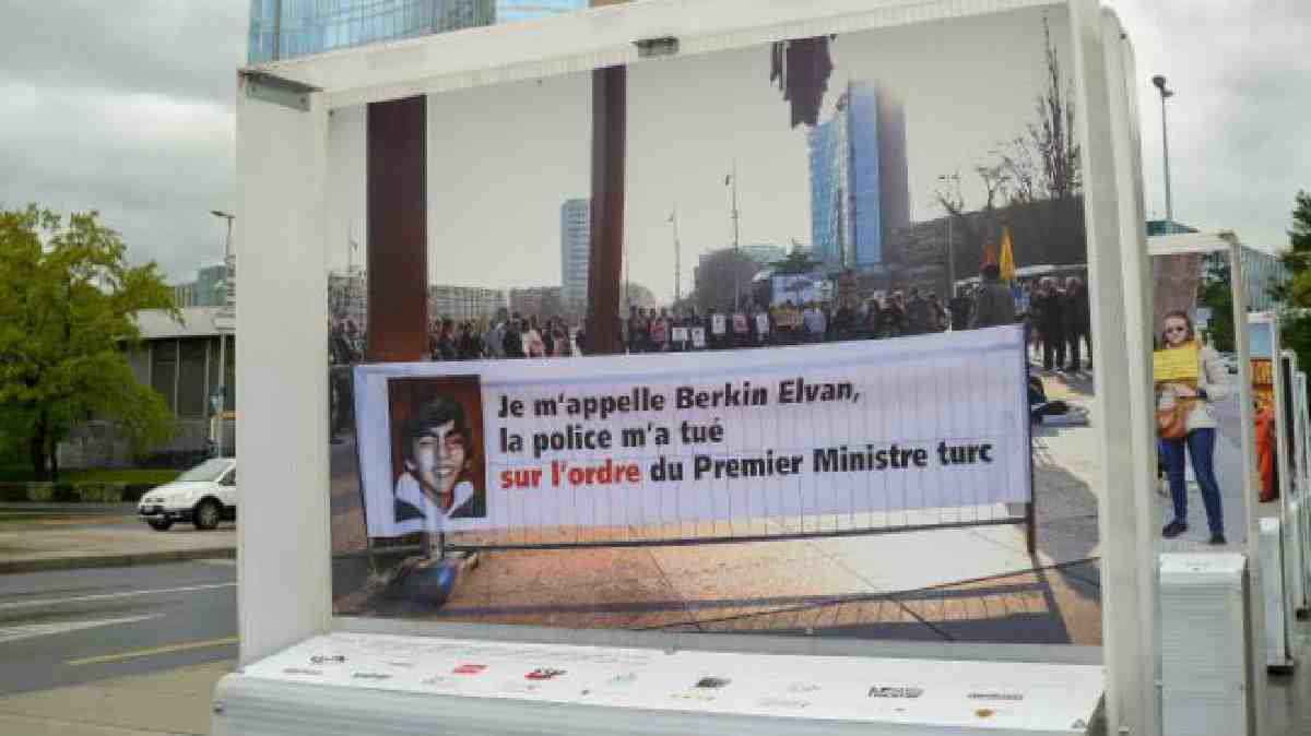 Cenevre Belediyesi'nden 'Berkin Elvan' fotoğrafının kaldırılma talebine red