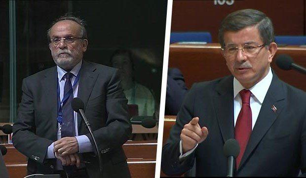 Kürkçü'den Davutoğlu'na yanıt gecikmedi