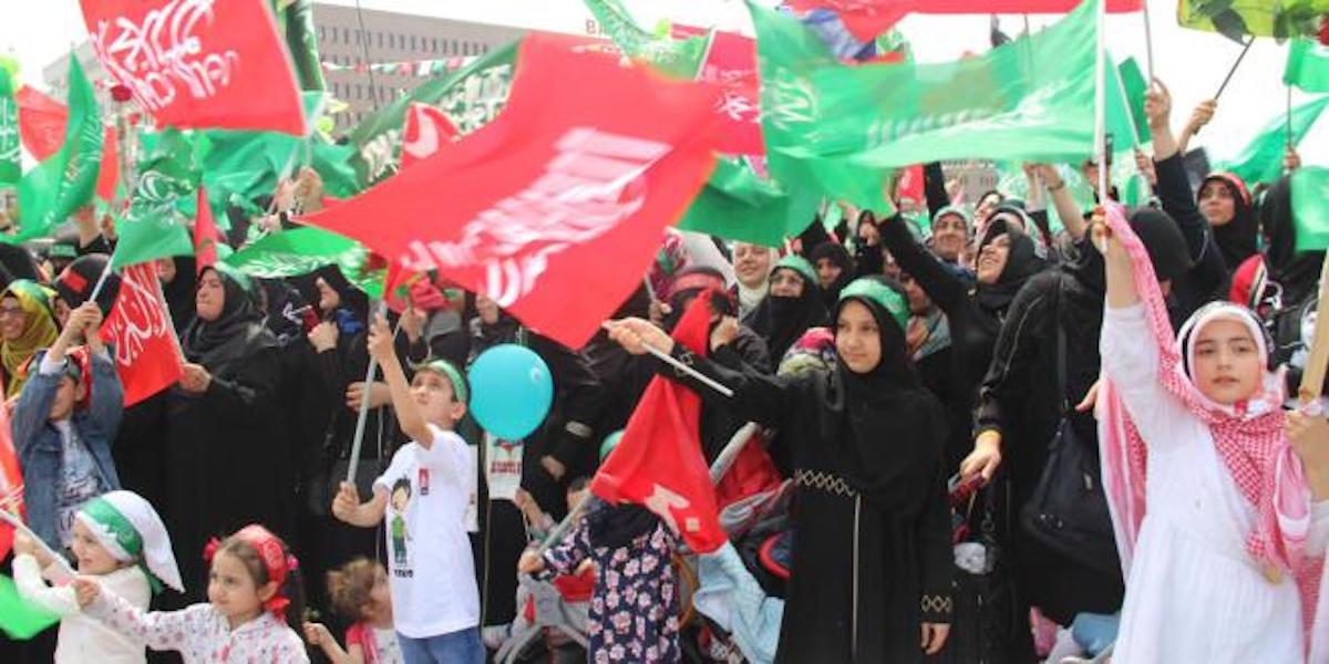 İstanbul'da Hizbullah mitingi: Herkese yasak