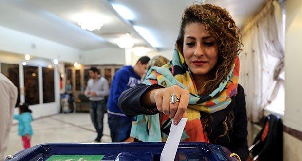 İran sandık başında