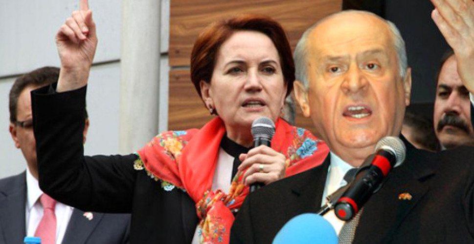 Meral Akşener Bahçeli karşısında: