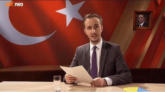 Alman komedyene Erdoğan'a 'hakaret'ten soruşturma!