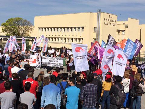 #Karaman adliyesine boşaltma kararı