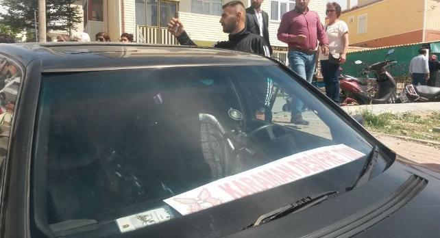 #Karaman'da davayı takip edenlere