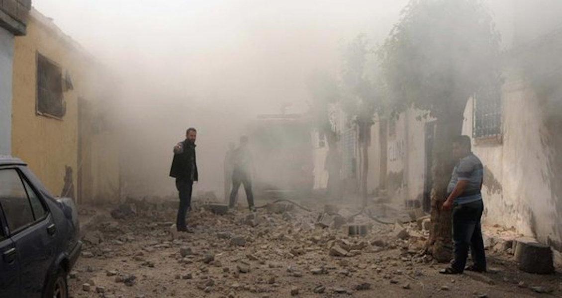 Kilis'te şiddetli patlama: 2 kişi hayatını kaybetti