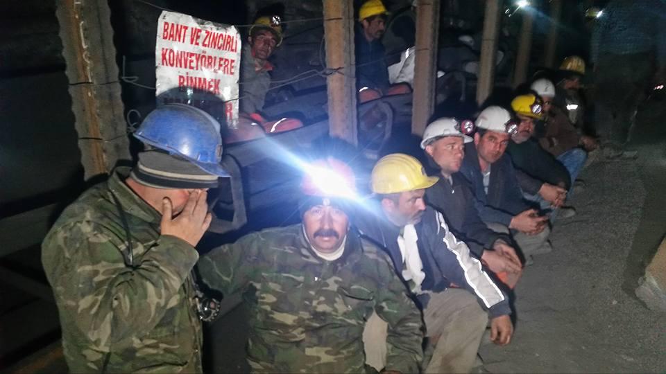 Zonguldak'ta maden işçilerinin açlık grevi sona erdi