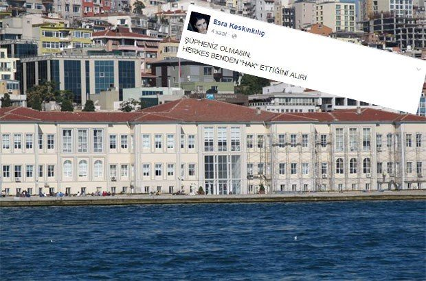 MSGSÜ'de Osmanlıca hocasından öğrencilerine iftira