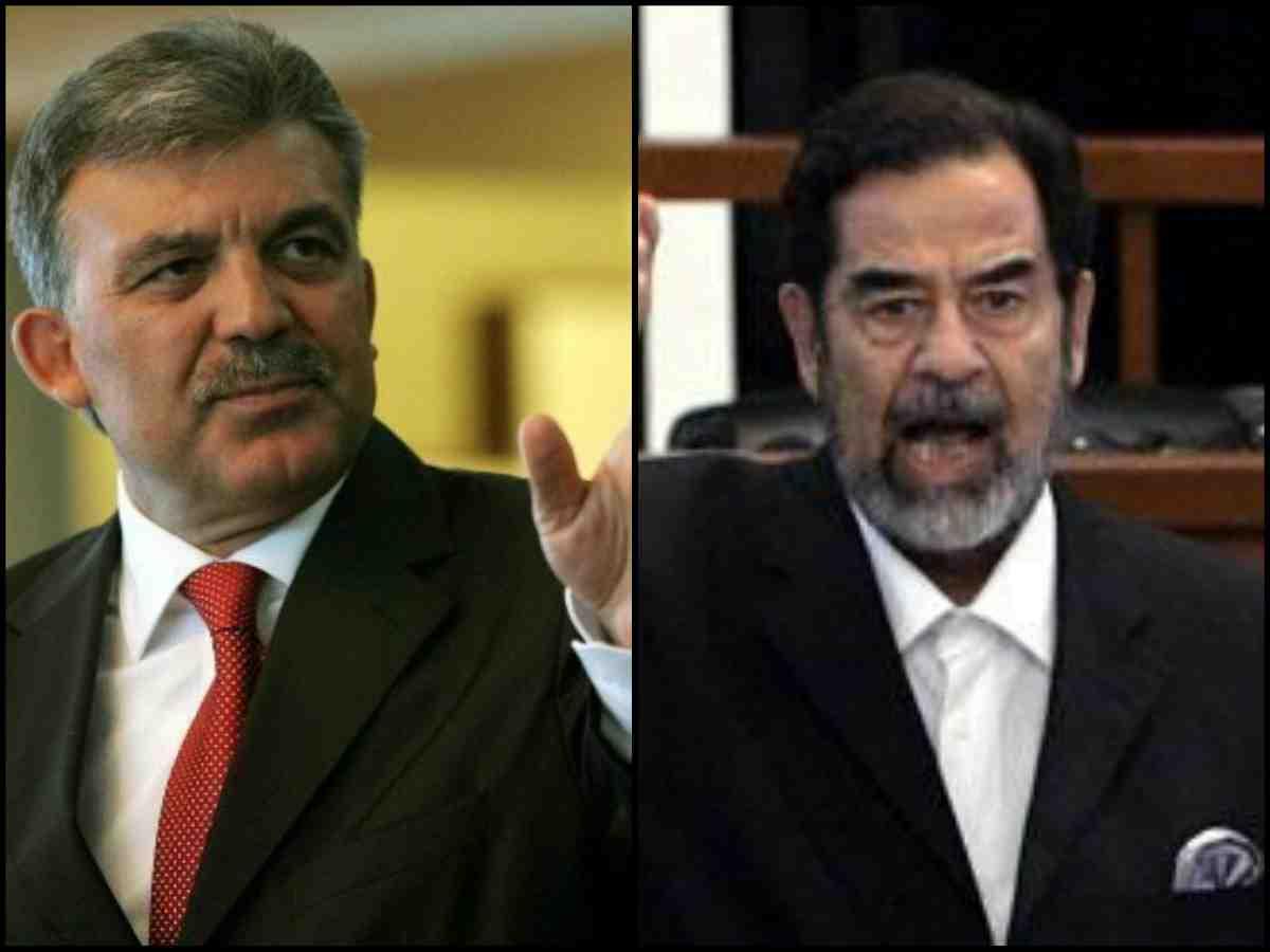 Abdullah Gül: Saddam'ı uyarmıştım!