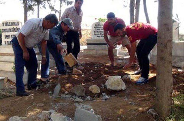 Suphi Altındöken'in mezarı diye açılan mezar boş çıktı