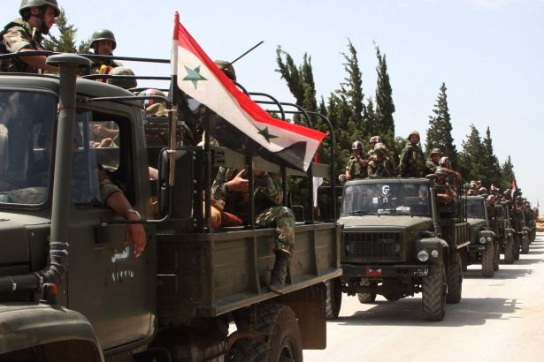 Suriye Ordusu El Bab'ı güneyden kuşatıyor