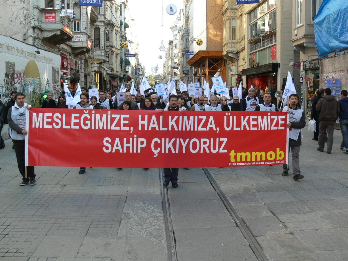 TMMOB'a bağlı meslek odalarından Erdoğan'a yanıt