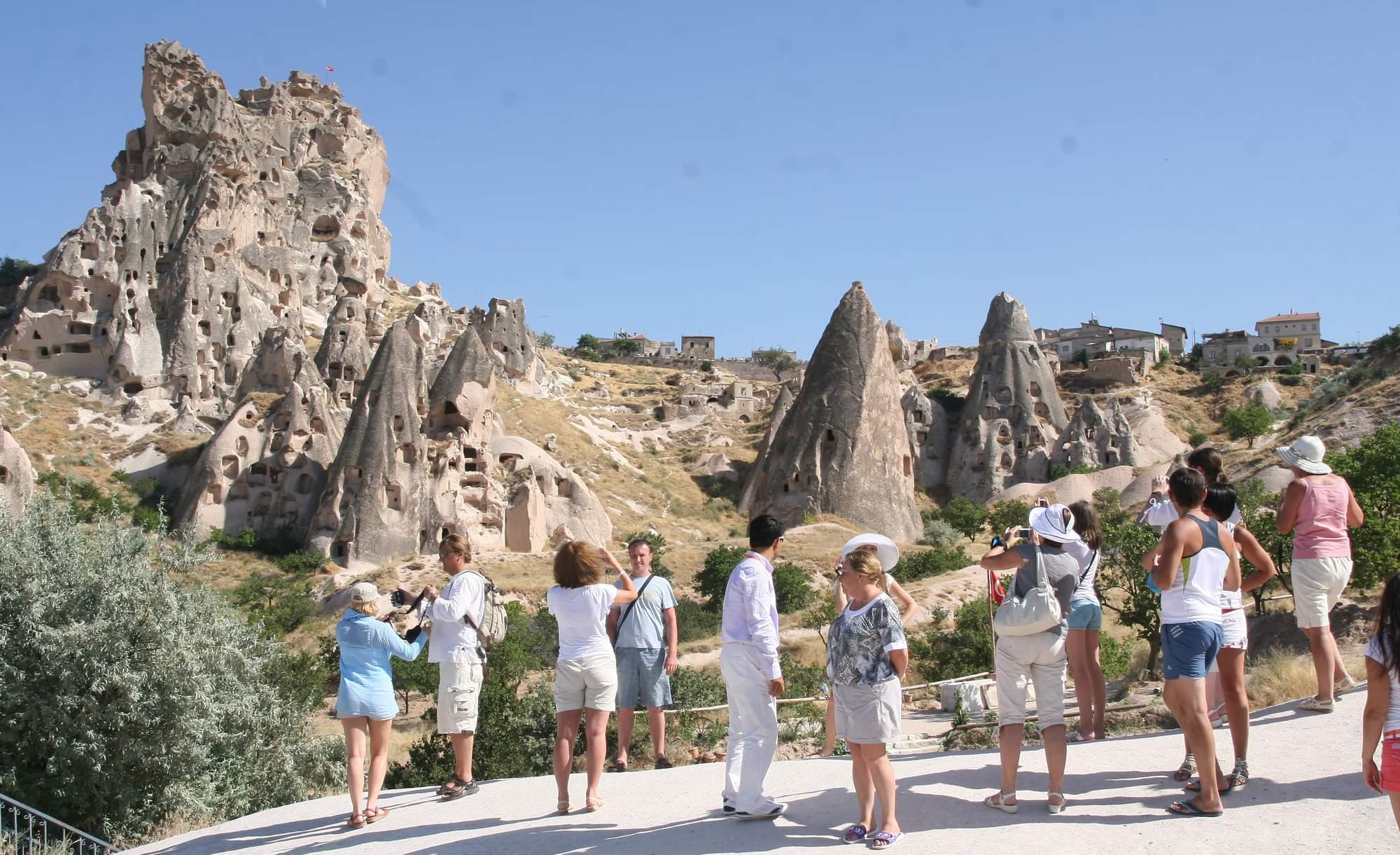Turist sayısı 10 yılın en düşük seviyesinde