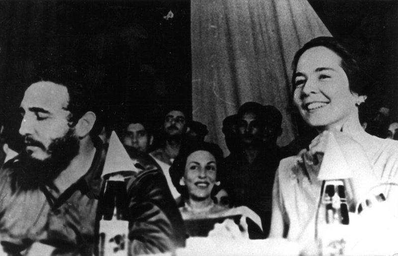 Fidel Castro'dan Vilma Espin ziyareti